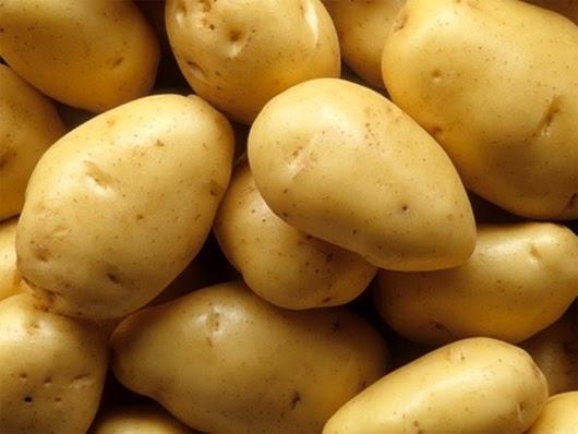 Làm trắng da bằng khoai tây