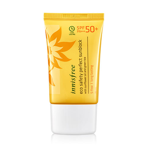 KEM CHỐNG NẮNG INNISFREE ECO SAFETY PERFECT SUNBLOCK SPF 50++