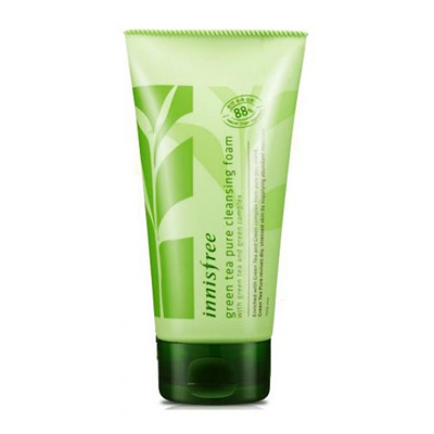 SỮA RỬA MẶT INNISFREE GREEN TEA PURE CLEANSING FOAM