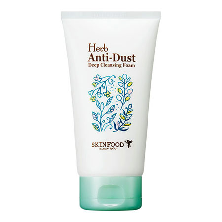 SỮA RỬA MẶT SKINFOOD HERB ANTI-DUST DEEP CLEANSING FOAM