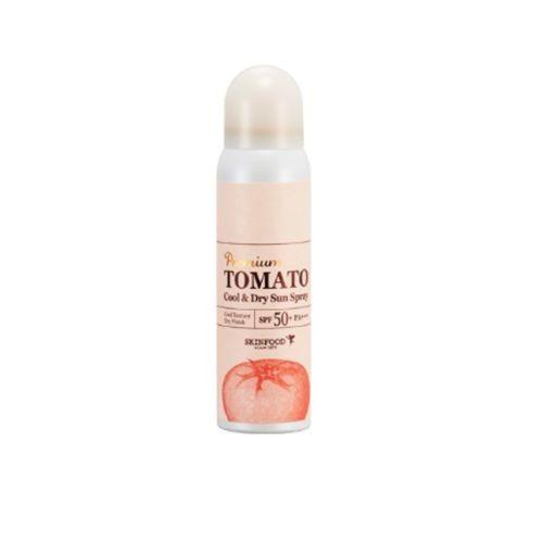 KEM CHỐNG NẮNG XỊT SKINFOOD PREMIUM TOMATO COOL & DRY SUN SPRAY SPF50 PA+++