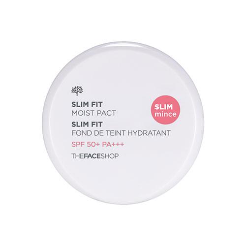 Phấn Phủ Nén The Face Shop Slim Fit Moist Pact SPF50+ PA+++