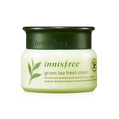 KEM DƯỠNG TRÀ XANH INNISFREE GREEN TEA FRESH CREAM