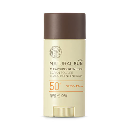 KEM CHỐNG NẮNG THE FACE SHOP NATURAL SUN ECO CLEAR SUNSCREEN STICK SPF50 PA+++