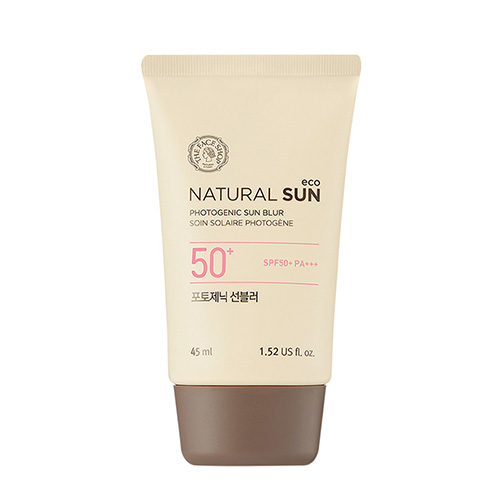 KEM CHỐNG NẮNG THE FACE SHOP NATURAL SUN ECO PHOTOGENIC SUN BLUR SPF50 PA+++