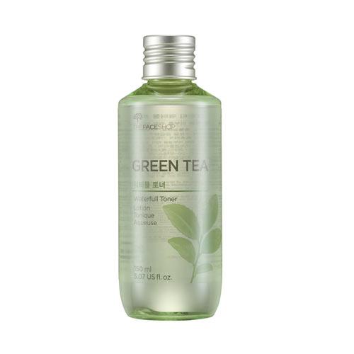 NƯỚC HOA HỒNG TRÀ XANH THE FACE SHOP GREEN TEA WATERFULL TONER