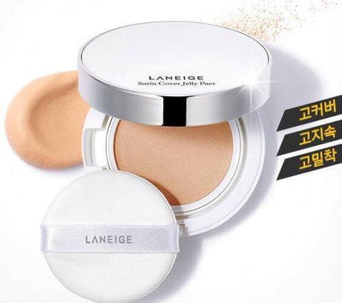 PHẤN PHỦ LANEIGE SATIN COVER JELLY PACT