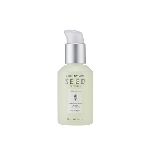 Tinh Chất Chống Lão Hóa Da The Face Shop Green Natural Seed Advanced Antioxidant Serum 50ml