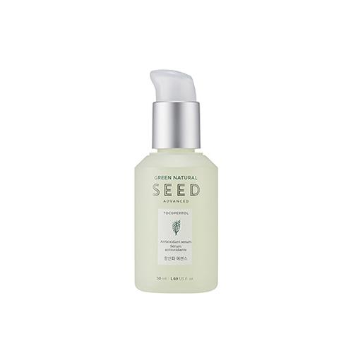 Tinh Chất Chống Lão Hóa Da The Face Shop Green Natural Seed Advanced Antioxidant Serum 50ml