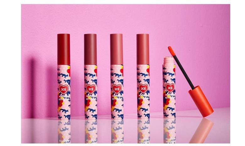 Son Kem Lì 3CE Maison Kitsune Velvet Lip Tint [Phiên Bản Giới Hạn]