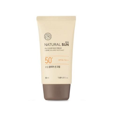 Kem chống nắng kiềm dầu Natural Oil Clear Sun SPF50 PA+++