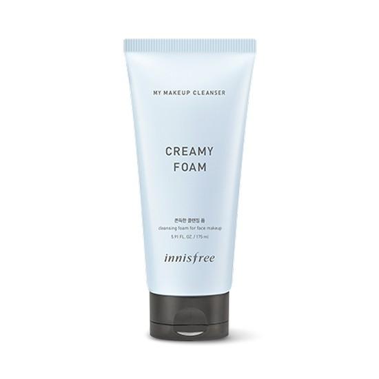 Sữa Rửa Mặt Kết Hợp Tẩy Trang Làm Sạch Sâu Innisfree My Makeup Cleanser Creamy Foam 175ml