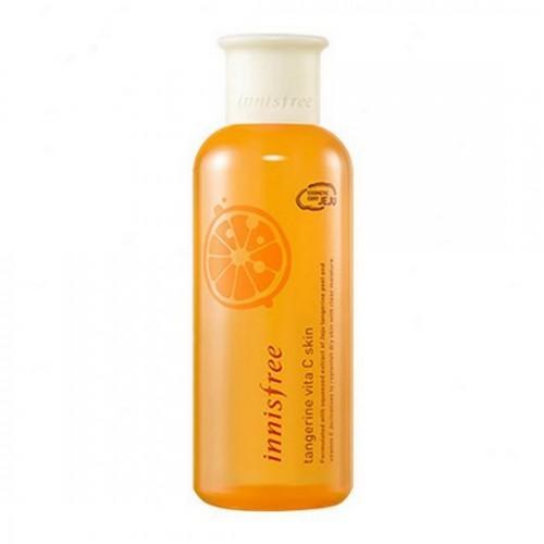 Nước Hoa Hồng Dưỡng Sáng Da Innisfree Tangerine Vita C Skin