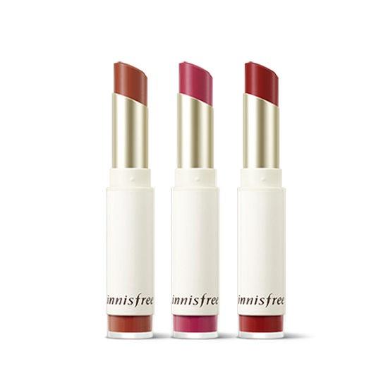 Son Lì Innisfree Mềm Mịn Môi Real Fit Velvet Lipstick